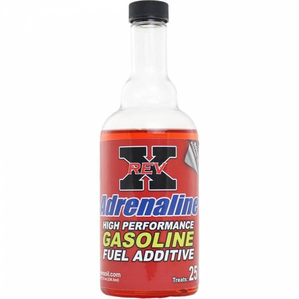 REV-X - 1 - Rev-X 8 Ounce Adrenaline Fuel Additive for Gasoline Engines