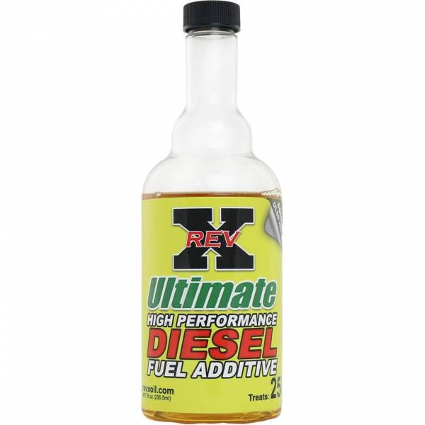 REV-X - 1- Rev-X 8 Ounce Bottle of Ultimate Fuel Additive for Diesels