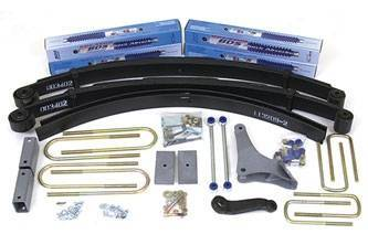 BDS Suspension - BDS 314H 4inch Suspension Lift Fits 99-04 Ford F250/350