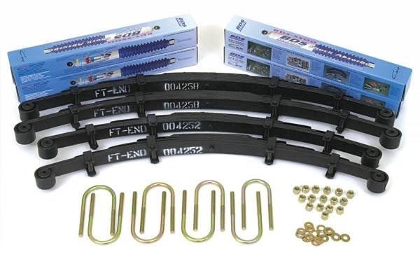BDS Suspension - BDS Suspension 2.5in Front/2.5in Rear Spring 401H