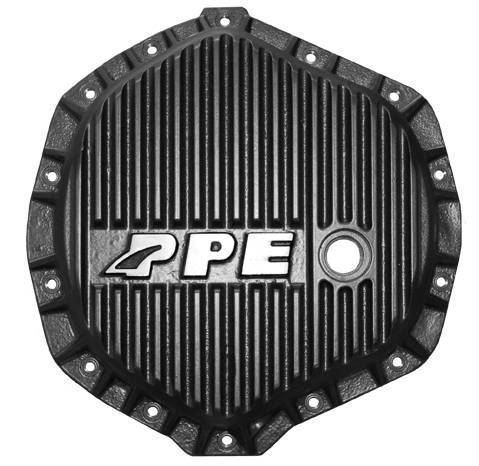 PPE - PPE Black HD Diff Cover 01+ GM 2500HD/3500 & 03-16 Dodge 2500/3500