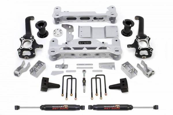 ReadyLift - ReadyLift 2011-13 FORD F150 7.0'' LIFT KIT WITH SST3000 SHOCKS (Electric Rack Only) 44-2145