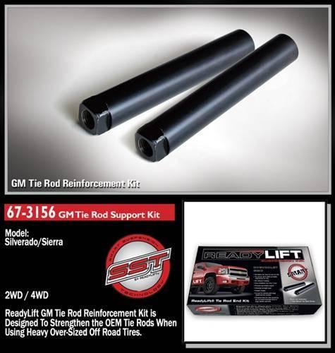 ReadyLift - ReadyLift 67-3156 Tie Rod Sleeves 00-09 GM 1500/2500HD/3500HD