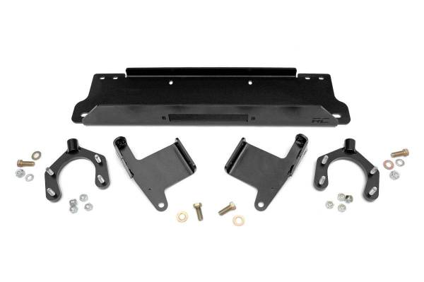 Rough Country - Jeep Winch Mounting Plate (07-18 JK Wrangler)