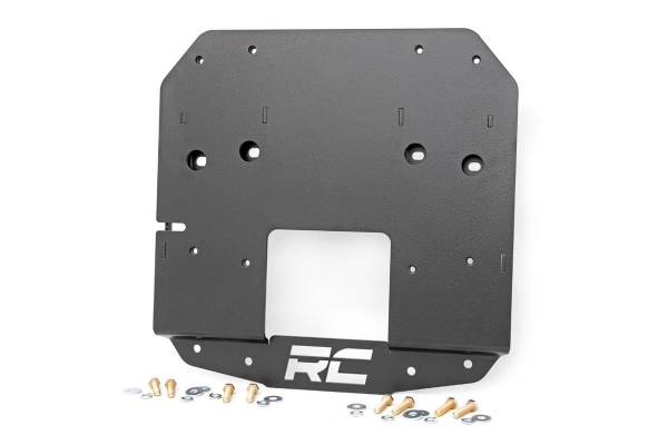 Rough Country - Jeep Spare Tire Relocation Bracket (18-19 Wrangler JL w/ Rear Proximity Sensors)