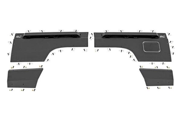 Rough Country - Jeep Rear Upper and Lower Quarter Panel Armor (97-01 Cherokee XJ)