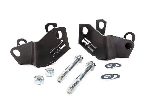 Rough Country - Jeep Rear Lower Control Arm Skid Plate Kit (18-19 Wrangler JL)
