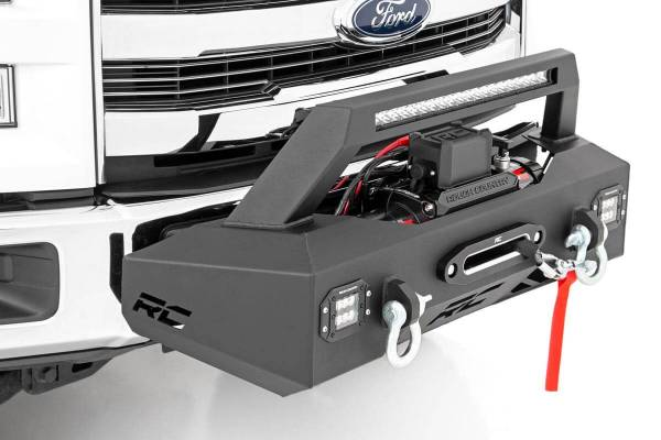Rough Country - EXO Winch Mount System (09-19 Ford F-150)