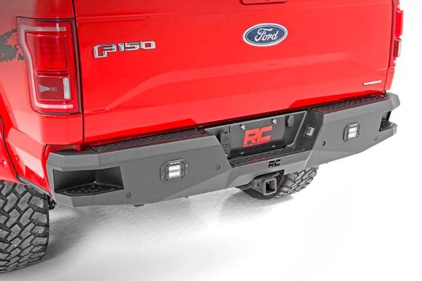 Rough Country - Ford Heavy-Duty Rear LED Bumper (15-19 F-150)