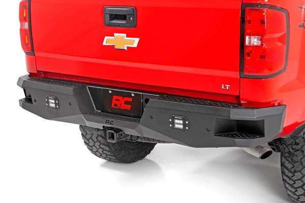 Rough Country - Chevy Heavy-Duty Rear LED Bumper (07-18 1500)