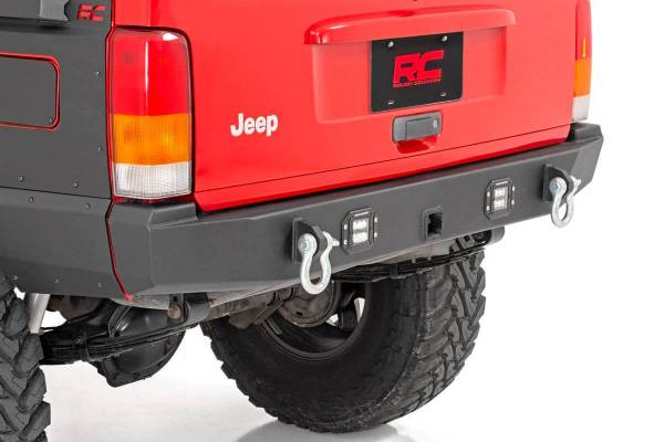 Rough Country - Jeep Rear LED Bumper (84-01 Cherokee XJ)