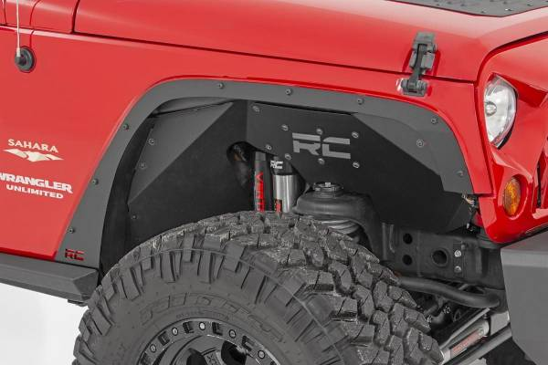 Rough Country - Jeep Front & Rear Fender Delete Kit (07-18 Wrangler JK)