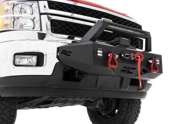 Rough Country - EXO Winch Mount System (11-18 Chevrolet Silverado 2500/3500)