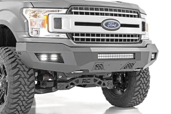 Rough Country - Ford Heavy-Duty Front LED Bumper (18-19 F-150)