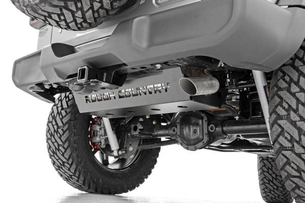 Rough Country - Jeep Muffler Skid Plate (18-19 Wrangler JL)