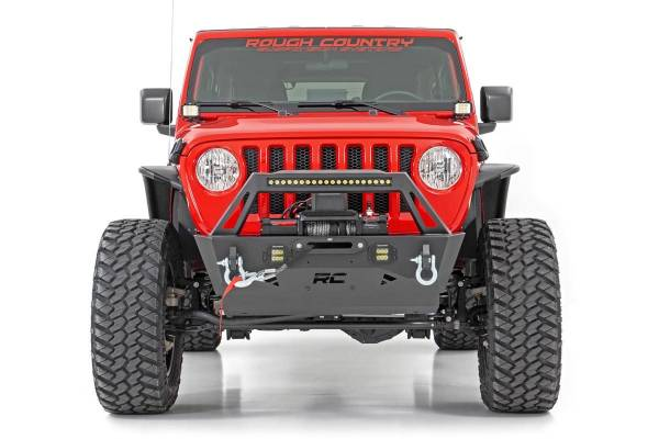 Rough Country - Jeep Front Trail Bumper (18-19 Wrangler JL)