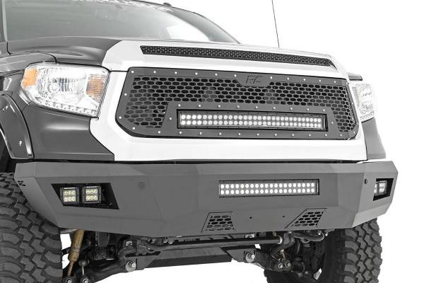 Rough Country - Toyota Heavy-Duty Front LED Bumper (14-19 Tundra)