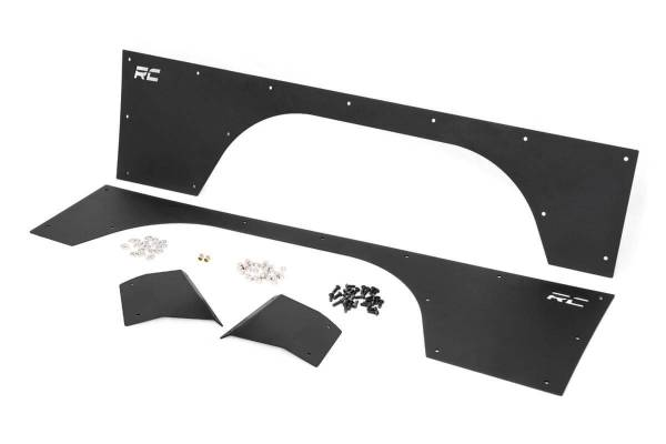 Rough Country - Jeep Front Upper and Lower Quarter Panel Armor (97-01 Cherokee XJ)