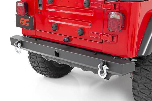 Rough Country - Jeep Classic Full Width Rear Bumper (87-06 Wrangler YJ/TJ)