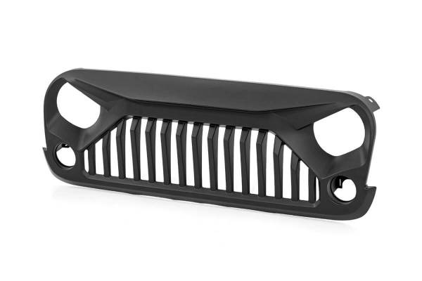 Rough Country - Jeep Angry Eyes Replacement Grille (07-18 Wrangler JK)
