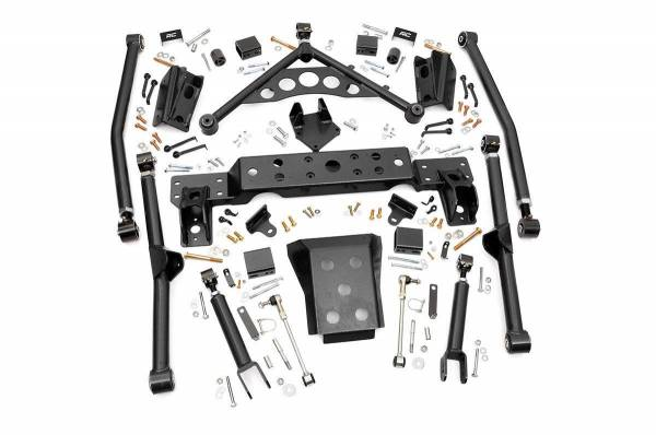 Rough Country - 4in Jeep Long Arm Upgrade Kit