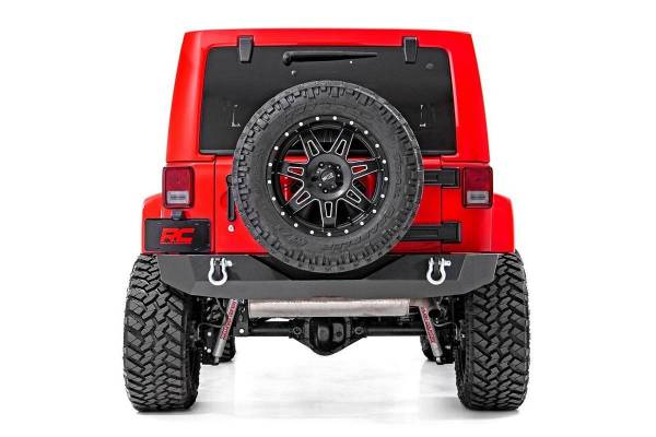 Rough Country - Jeep Rock Crawler Rear HD Bumper (07-18 Wrangler JK)