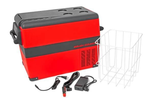 Rough Country - 45L Portable Refrigerator / Electric Cooler (12 Volt   AC 110)