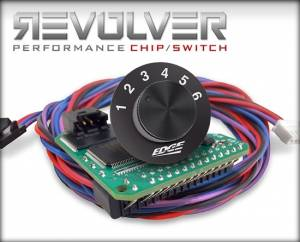 Shop By Part - Programmers & Tuners - EDGE PRODUCTS - Edge Products 1995-2003 Ford 7.3L Diesel Revolver 6 Position Chip