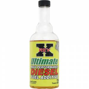 Ford Powerstroke - REV-X - 1- Rev-X 8 Ounce Bottle of Ultimate Fuel Additive for Diesels