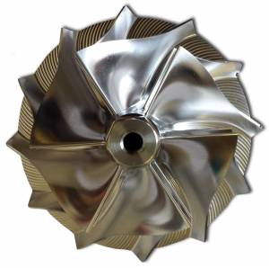 DKDiesel - 1994-2003 7.3L FORD Powerstroke BILLET COMPRESSOR WHEEL - Image 3