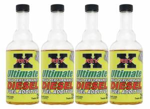 REV-X - 4 - Rev-X 8 Ounce Bottles of Ultimate Fuel Additive for Diesels
