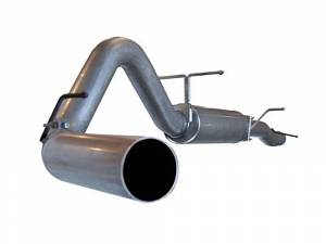 "Exhaust - Exhaust Systems - AFE - AFE 49-13003 4"" Large Bore Cat Back Exhaust 03-07 Ford Powerstroke"
