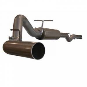 "Exhaust - Exhaust Systems - AFE - AFE 49-14001 MachForce 4"" Cat Back Exhaust 01-05 GM 6.6L Duramax"