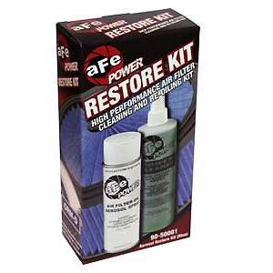 Air Intakes & Accessories - Air Filter Accessories - AFE - AFE 90-50001 Air Filter Restore Kit - Aerosol (Blue)