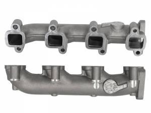 AFE - aFe Power BladeRunner Ported Ductile Iron Exhaust Manifolds | GM Diesel Trucks 01-16 V8-6.6L - Image 2