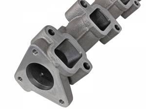 AFE - aFe Power BladeRunner Ported Ductile Iron Exhaust Manifolds | GM Diesel Trucks 01-16 V8-6.6L - Image 5