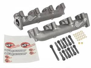 AFE - aFe Power BladeRunner Ported Ductile Iron Exhaust Manifolds | GM Diesel Trucks 01-16 V8-6.6L - Image 6