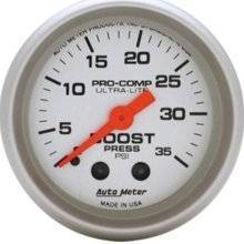 Gauges & Pods - Gauges - Autometer - AutoMeter - 4304 Ultra-Lite Boost, 0-35 Psi, Mech 2In.