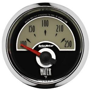 "Gauges & Pods - Gauges - Autometer - Autometer 1138 Cruiser 2 1/16"" Water Temperature"