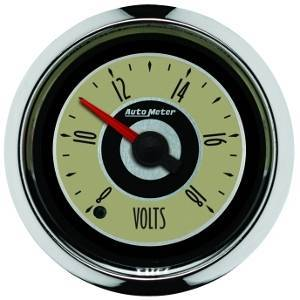 "Gauges & Pods - Gauges - Autometer - Autometer 1183 Cruiser 2 1/16"" Voltmeter"