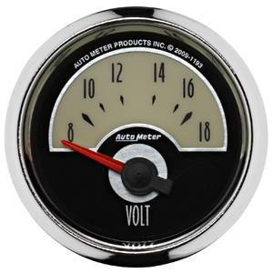 "Gauges & Pods - Gauges - Autometer - Autometer 1193 Cruiser 2 1/16"" Voltmeter"