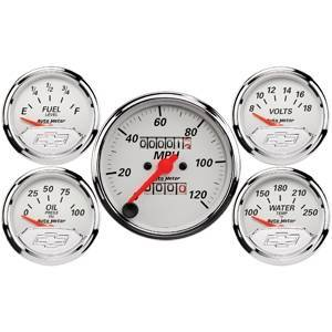 Gauges & Pods - Gauges - Autometer - Autometer 1300-00408 GM Performance Parts Gauge Kit