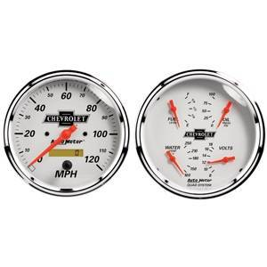 "Gauges & Pods - Gauges - Autometer - Autometer 1303-00408 GM Performance Parts 5"" Gauge Kit"