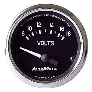 """Gauges & Pods - Gauges - Autometer - Autometer 201009 Cobra 2 1/16"""" Voltmeter"""