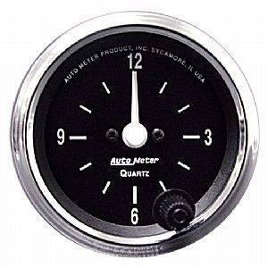 "Gauges & Pods - Gauges - Autometer - Autometer 201019 Cobra 2 1/16"" Clock"