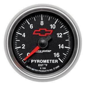 Gauges & Pods - Gauges - Autometer - Autometer 3644-00406 - GM Series 0-1600* Pyrometer