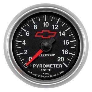 Gauges & Pods - Gauges - Autometer - Autometer 3645-00406 - GM Series 0-2000* Pyro Gauge