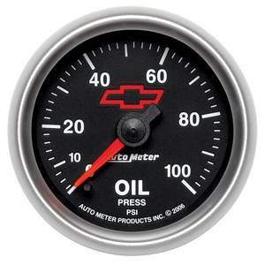 Gauges & Pods - Gauges - Autometer - Autometer 3653-00406 - GM Series 0-100PSI Oil Pressure Gauge