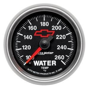 "Gauges & Pods - Gauges - Autometer - Autometer 3655-00406 GM Perfoemance Parts 2 1/16"" Water Temperature"