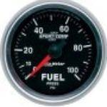 Gauges & Pods - Gauges - Autometer - Autometer 3671 Sport Comp II Fuel Pressure Gauge 0-100 PSI